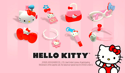 2018 McDonalds Hello Kitty Happy Meal SEALED Toys Pick Your Toy!