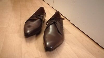 Retro Vintage classic leather brown shoes from 1950s