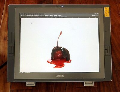 Wacom Cintiq 21Ux 21 Inch Dtz-2100 D/g Drawing Tablet With Cables, Stand And Pen