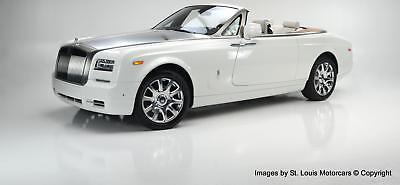 2016 Phantom Drophead Coupé Drophead 2016 Rolls-Royce Phantom Drophead Coupé English White  1,977 Miles