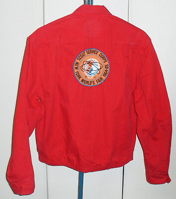 New York World's Fair 1964 1965 Official Boy Scout Jacket