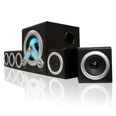 SumVision V-Cube 5.1 Surround Sound Bluetooth Wireless PC MP3 Speaker System