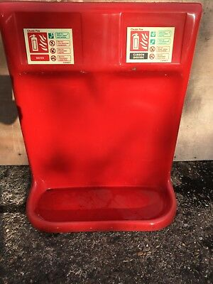 Fire Extinguisher Double Stands
