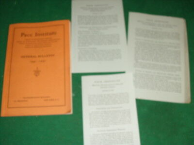 1940-1941 Pace Institute General Bulletin School of Accounting