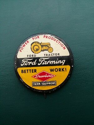 FORD FARMING Collectible advertising pin