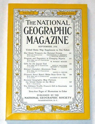 National Geographic - September 1956 - Philmont article w/ color photos