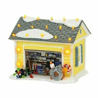Dept 56 Snow Village Christmas Vacation THE GRISWOLD HOLIDAY GARAGE 4056686
