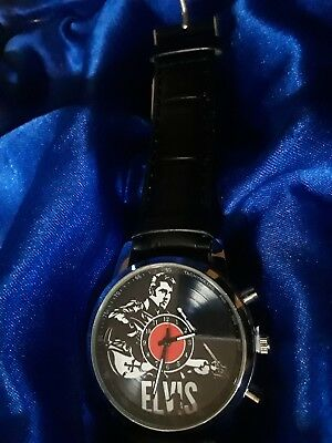 Elvis The King Watch brand new. Makes great gift or collectors item, Elvis fans!