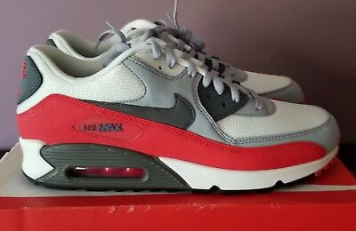 new concept 47f6f 81984 Nike Air Max 90 Men s size 13 Wolf Grey Challenge Red 537384-039 New in