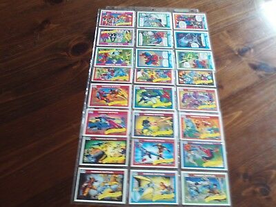 Marvel Comics. 1990. Possibly 2 Sets. 2 Stan Lee Cards. Lots Of Dups. 260 Cards