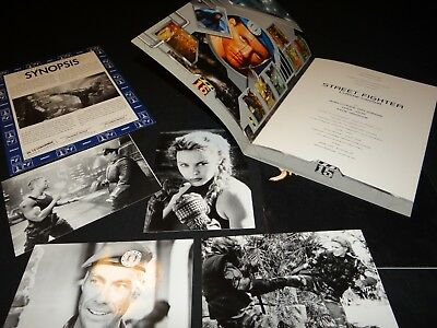 j c van damme STREET FIGHTER minogue dossier presse cinema fantastique + photo