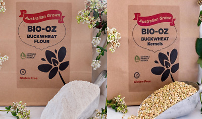 Bio-Oz Buckwheat GF 2kg Twin Pack Australian Grown Freight Free