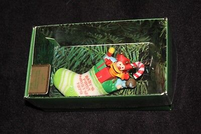 Vintage Hallmark Baby's First Christmas Dated Ornament 1979 NIB