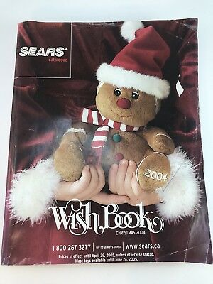 Sears Wish book Christmas Catalogue 2004 TMNT Transformers LEGO SONY