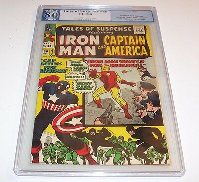 Tales of Suspense #60 - Graded VF 8.0 - Marvel 1964 Silver Age issue