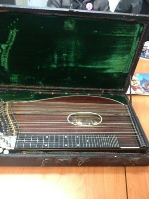 Zither Antique German Made