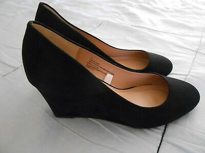 c747e6866e4d Women s SODA REX Black Suede Wedge Casual Dress Lace-up Booties Dress Shoes  NEW.  16.00 Buy It Now 26d 6h. See Details. A NEW DAY Womens Dot Round Toe  Wedge ...