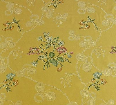 Lee Jofa Desiree Lampass.mimosa Yellow French Lace Lampas Bty Msrp$216/y!