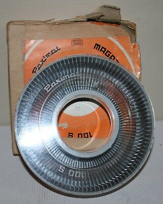 Braun Paximat 100 35mm Slides / Slide / Transparency Rotary Magazine - Boxed