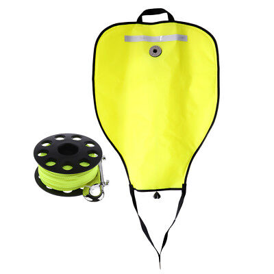 Sac de levage pour plongée Scuba Diving + bobine de 30m Finger Reel Tech