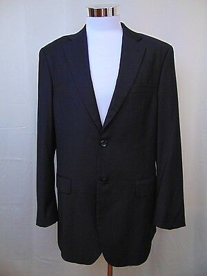 Caravelli Italy Men's Two-Button Lined Blazer - Sport Coat - Black - Size 40R