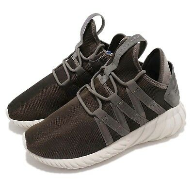 sale retailer 34f3d 8f845 ADIDAS ORIGINALS TUBULAR Dawn W Brown Grey Women Running Shoes Sneakers  CQ2507