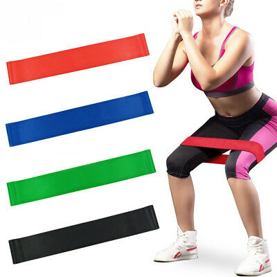 Resistance Bands Heavy Duty Exercise Elastic Gym Stretch Loop Pilates Band Sport