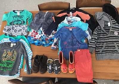 boys clothing Size 4-5 Bundle With Shoes.