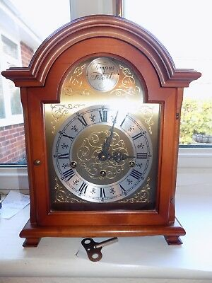 W. Haid Germany Westminster Whittington St Michael Chime Bracket Mantel Clock