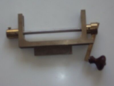clock makers mainspring winding tool in brass