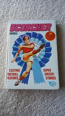 Fleetway Scorcher Annual-1972 - Exciting Football Features, Super Soccer Stories