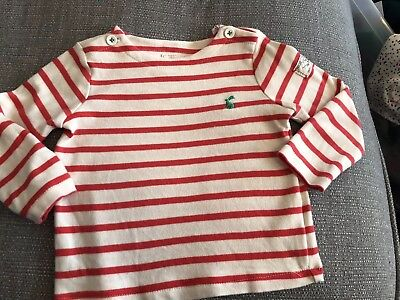 Baby Girl Joules Harbour Mariner Top 12-18 Months