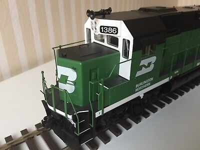 ATLAS Spur 0 GP-15 der Burlington Northern DCC