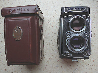 Rolleiflex TLR camera 3.5 Automat 1938 Zeiss lens just after service works well