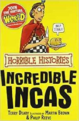 The Incredible Incas (Horrible Histories) by Terry Deary NEW paperback Book