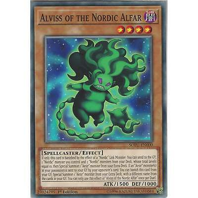 Yu-Gi-Oh! Alviss of the Nordic Alfar - SOFU-EN000 - Common Card - 1st Edition