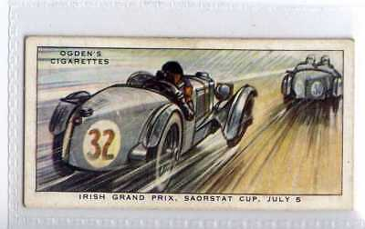 (Je3509) OGDENS,MOTOR RACES 1931,IRISH GRAND PRIX SAORSTAT CUP,1931,#19