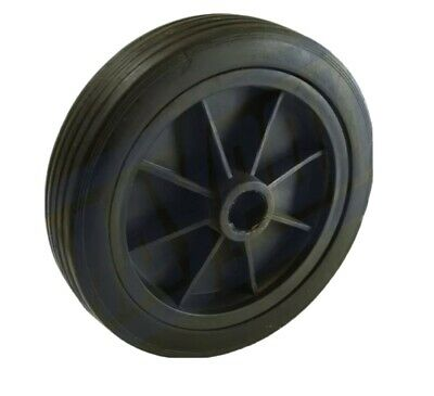 Jockey Wheel Replacement Black Plastic Fits Mp437 155Mm Maypole Genuine Mp226