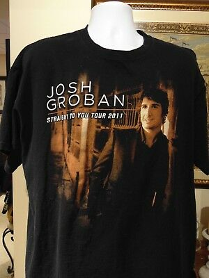 "Josh Groban ""Straight to You Tour 2011"" XXL"