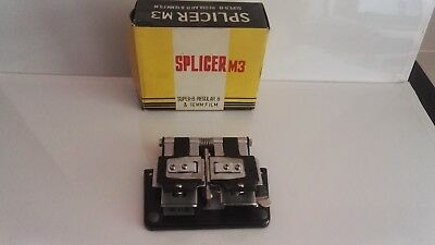 super 8mm and 16mm film vintage splicer   boxed and made in japan