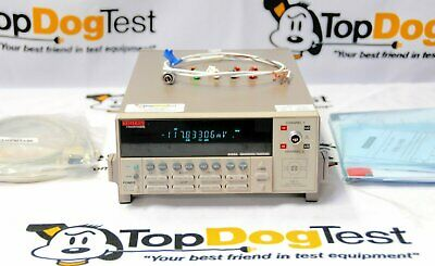 """Keithley 2182A Dual-Channel Ultra-Low Voltage Nanovoltmeter  """"  CALIBRATED  """""""