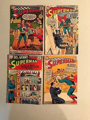 vintage DC comic books Lot Of 20 Different Titles