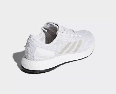 28ca60fd724b1 adidas PureBOOST White Grey Men Running Shoes Sneakers Trainers BB6277 Sz 12