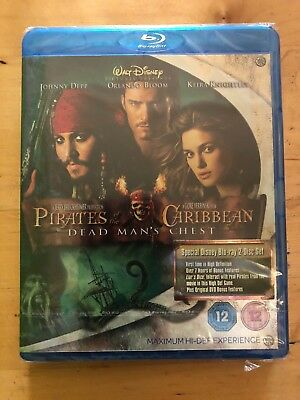 Pirates Of The Caribbean - Dead Man's Chest (Blu-ray) ** NEW **