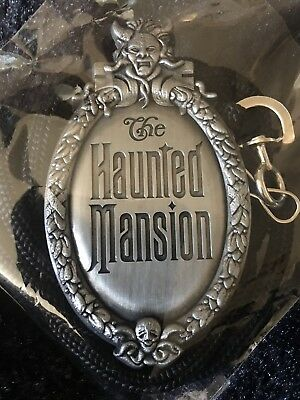 Haunted Mansion Bolo Lanyard Disney Cast Member Exclusive