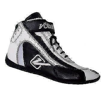 Velocita W07 Safety Driving Racing Shoes SFI Leather / Nomex White Size 7