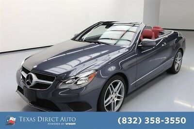 2014 Mercedes-Benz E-Class E 350 Texas Direct Auto 2014 E 350 Used 3.5L V6 24V Automatic RWD Convertible Premium