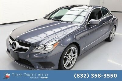 2014 Mercedes-Benz E-Class E 350 Texas Direct Auto 2014 E 350 Used 3.5L V6 24V Automatic RWD Coupe Premium