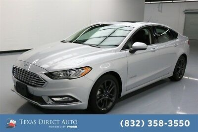 2018 Ford Fusion SE Texas Direct Auto 2018 SE Used 2L I4 16V Automatic FWD Sedan