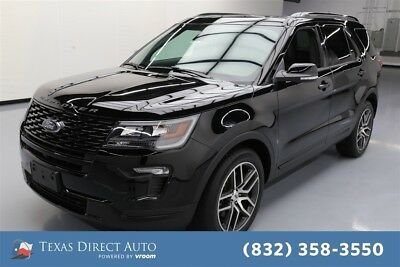 2018 Ford Explorer Sport Texas Direct Auto 2018 Sport Used Turbo 3.5L V6 24V Automatic 4WD SUV Moonroof